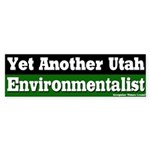 Utah Environmentalist Bumper Sticker