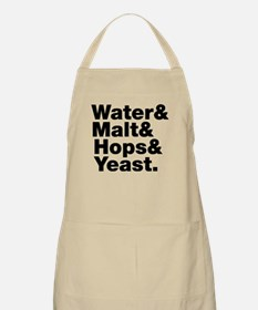 Beer | Water & Malt & Hops & Yeast. Apron