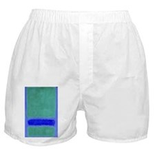ROTHKO BLUE AND BROWN Boxer Shorts