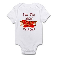 New Baby Brother Infant Bodysuit