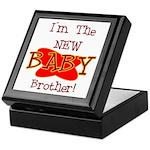 New Baby Brother Keepsake Box