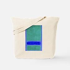 ROTHKO SHADES OF BLUE GREEN Tote Bag