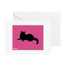 Ragdoll iPet Greeting Cards (Pk of 10)