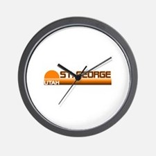 St. George, Utah Wall Clock