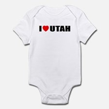 I Love Utah Infant Bodysuit