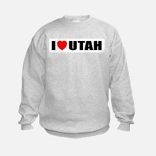 I Love Utah Sweatshirt