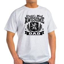 World's Most Awesome Dad T-Shirt