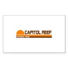 Capitol Reef National Park Rectangle Decal