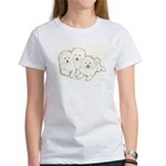 Samoyed Puppies Women's T-Shirt