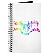 Without Music Life would be flat Humor Quote Journ