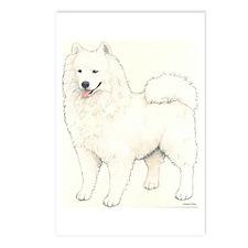 Samoyed Dog Postcards (Package of 8)