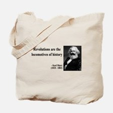 Karl Marx Quote 7 Tote Bag