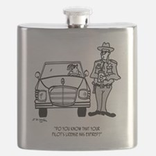 Pilot Cartoon 5214 Flask