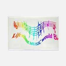 Without Music Life would be flat Humor Quote Magne