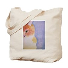 Peeking Sonny Cat Tote Bag