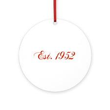 Cute 1952 Ornament (Round)