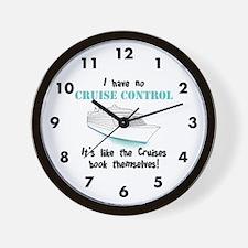 Cruise Control Wall Clock