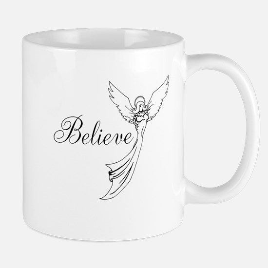I believe in angels Mugs