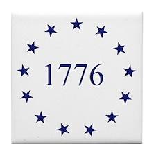 1776 & 13 Colony Stars Tile Coaster