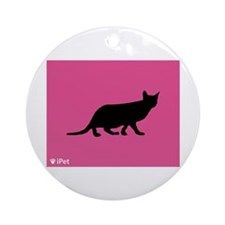 Ocicat iPet Ornament (Round)