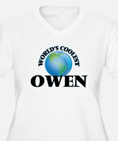 World's Coolest Owen Plus Size T-Shirt