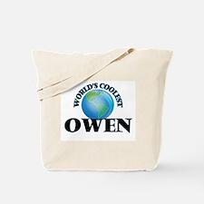 World's Coolest Owen Tote Bag