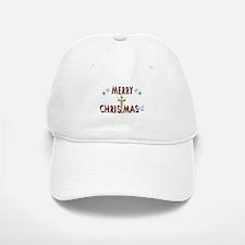 Merry Christmas with Cross Baseball Baseball Cap