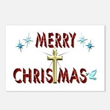 Merry Christmas with Cros Postcards (Package of 8)