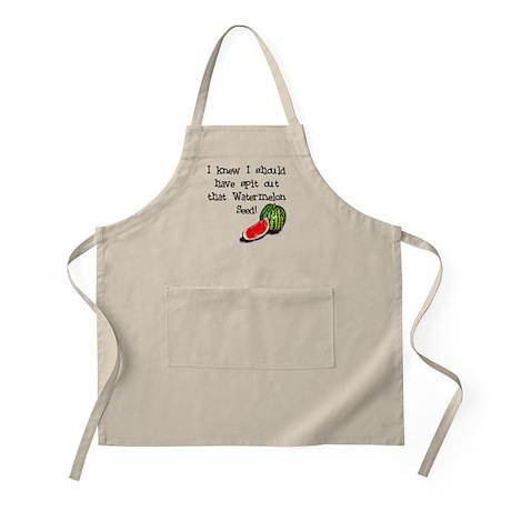 Watermelon Seed BBQ Apron