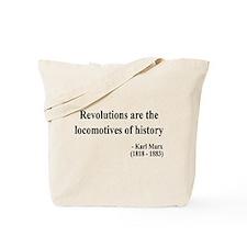 Karl Marx Text 7 Tote Bag