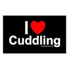 Cuddling Decal