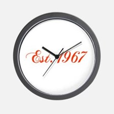 1967 camaro Wall Clock