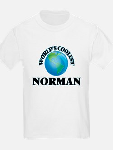 World's Coolest Norman T-Shirt