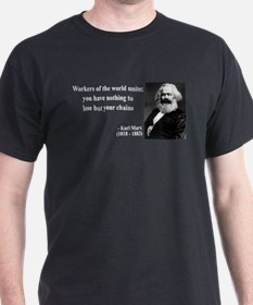 Karl Marx Quote 8 T-Shirt
