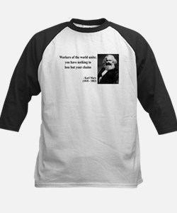 Karl Marx Quote 8 Tee