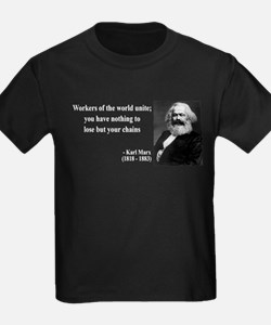 Karl Marx Quote 8 T