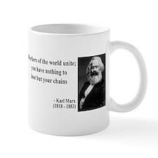 Karl Marx Quote 8 Mug