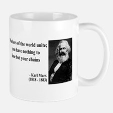 Karl Marx Quote 8 Mug