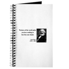 Karl Marx Quote 8 Journal