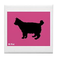 Bobtail iPet Tile Coaster