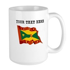 Custom Grenada Flag Mugs