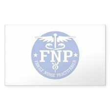 Family Nurse Practitioner Decal