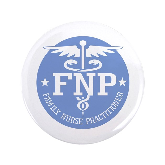 Family Nurse Practitioner 3 5 Quot Button By Medproduct