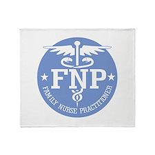 Family Nurse Practitioner Throw Blanket