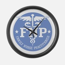 Family Nurse Practitioner Large Wall Clock