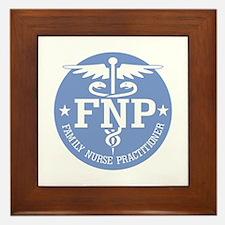 Family Nurse Practitioner Framed Tile