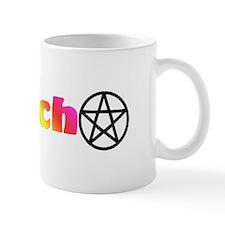 Rainbow Wiccan & pentacles Mug