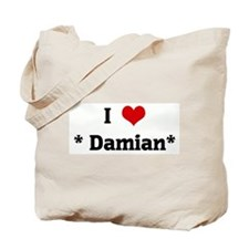 I Love * Damian* Tote Bag