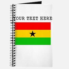 Custom Ghana Flag Journal