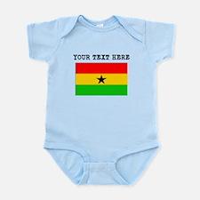 Custom Ghana Flag Body Suit